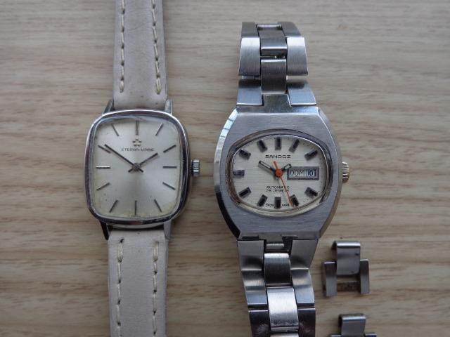 0f30a21ef97 Relógios Automáticos Feminino Sandoz E Eternamatic Originais ...