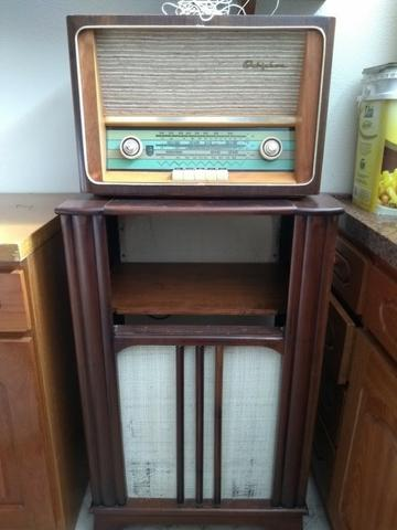 Rádio Marca Orbiphon Antigo Década de 50/60 - Funcionando