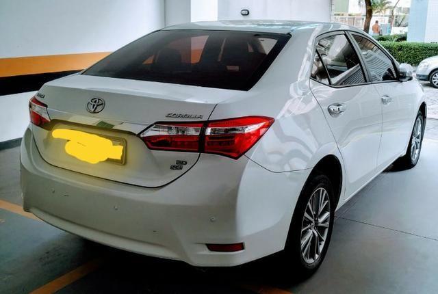 Toyota Corolla Corolla branco perolizado