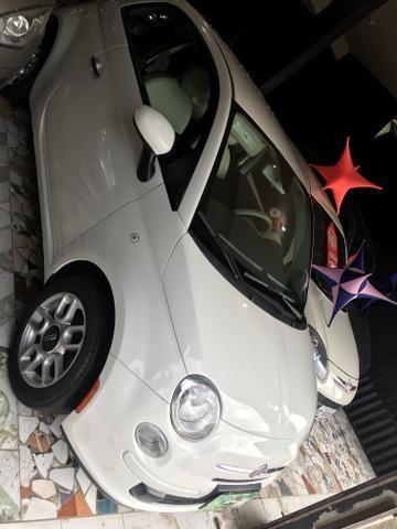 Fiat 500 2012 é na talismã Veiculos - Foto 4