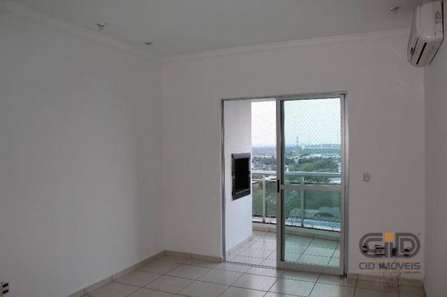 Apartamento com 3 dormitórios à venda, 85 m² por r$ 360.000 - alvorada - cuiabá/mt - Foto 3