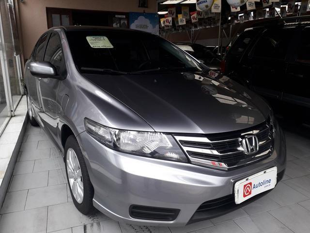 Honda -City Lx 2013 Mecânico c/Couro Sem consulta Score p/Financiamento!!! - Foto 2