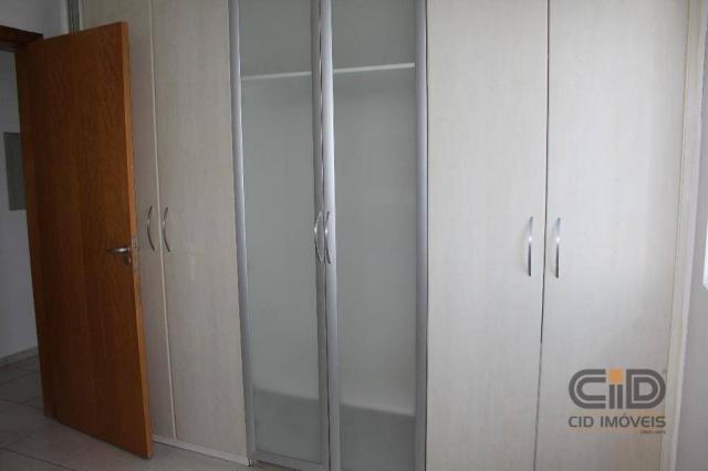 Apartamento com 3 dormitórios à venda, 85 m² por r$ 360.000 - alvorada - cuiabá/mt - Foto 13