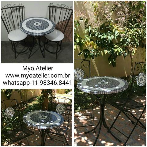 Moveis, mesa, varanda, sacada, cadeira, banqueta - Foto 2
