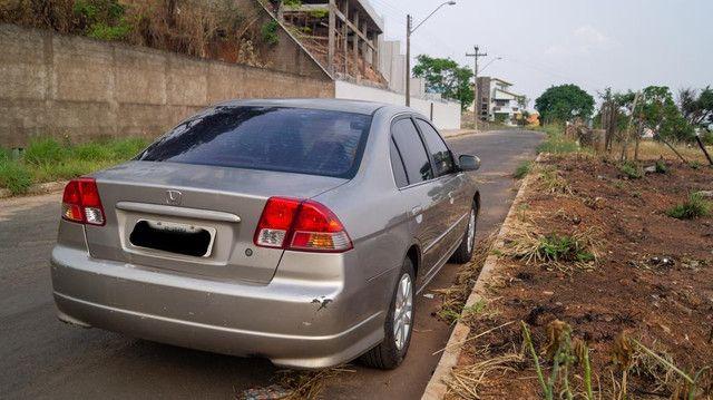 Honda Civic 1.7 2005 bancos de couro - Foto 5