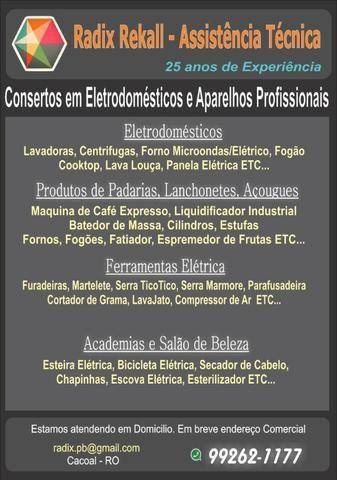 Serviços Especializados - Assistencia Tecnica