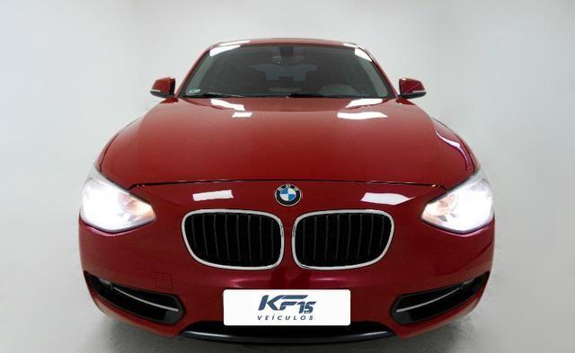 BMW 118i Turbo Gasolina 2013 Vermelho Completo - Foto 2