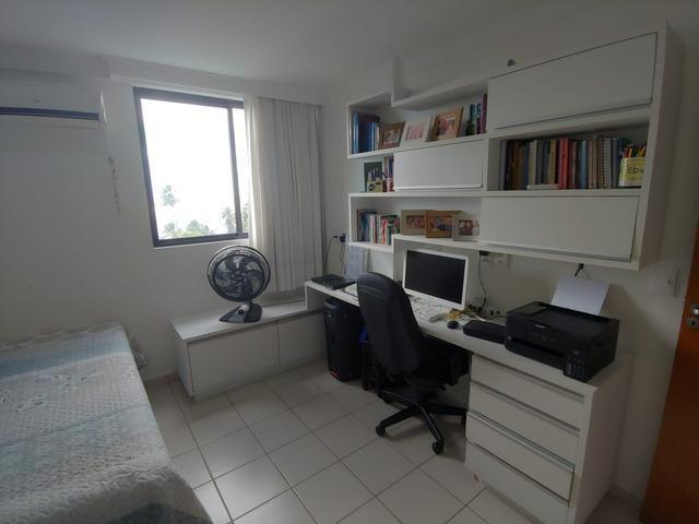 Apartamento 89m na beira mar do Cabo Branco - Foto 8