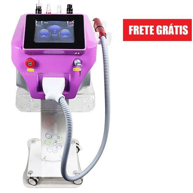 Máquina a Laser de Remoção De Tatuagem, sobrancelhas, micropigmentação, sardas, Nd Yag