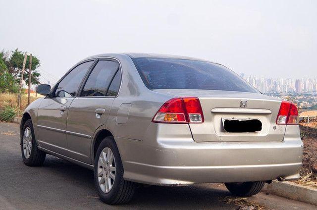 Honda Civic 1.7 2005 bancos de couro - Foto 3
