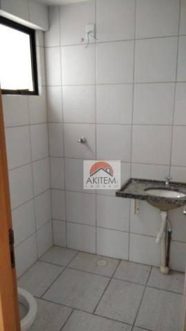 Apartamento com 3 quartos para alugar, 64 m² por R$ 1.800/mês - Casa Caiada - Olinda/PE - Foto 18