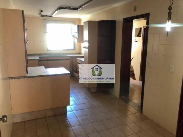 Apartamento com 4 dormitórios para alugar, 190 m² por R$ 2.700/mês - Centro - São José do  - Foto 3