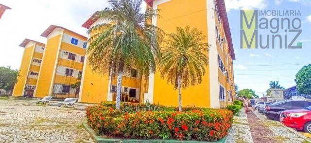 Apartamento com 2 dormitórios para alugar, 46 m² por R$ 650,00/mês - Edson Queiroz - Forta - Foto 8