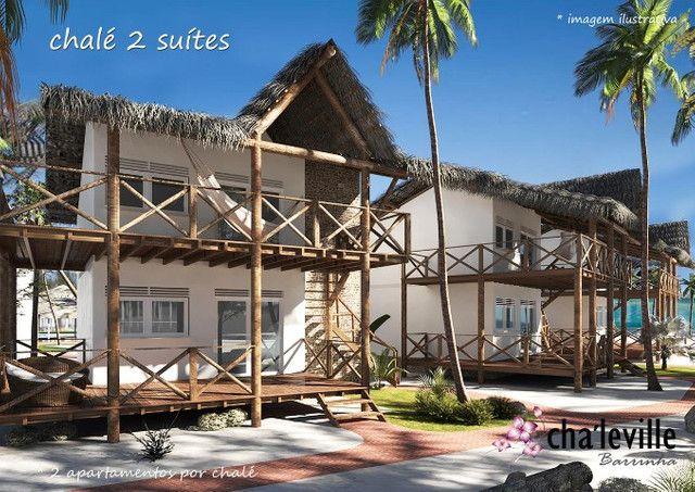 Chalé com Rooftop, 2 suítes, Praia da Barrinha - Foto 6