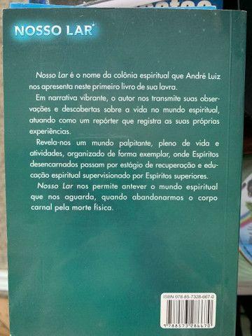 Livro Nosso Lar - novo - Foto 2