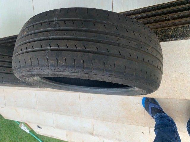 Pneus aros 16 usados (o valor é para os dois pneus) - Foto 3