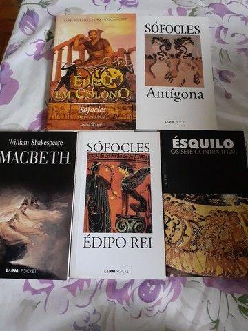 Coleção 5 livros: Shakespeare, Sófocles e Ésquilo