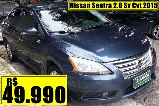 Nissan Sentra 2.0 Sv Cvt 2015