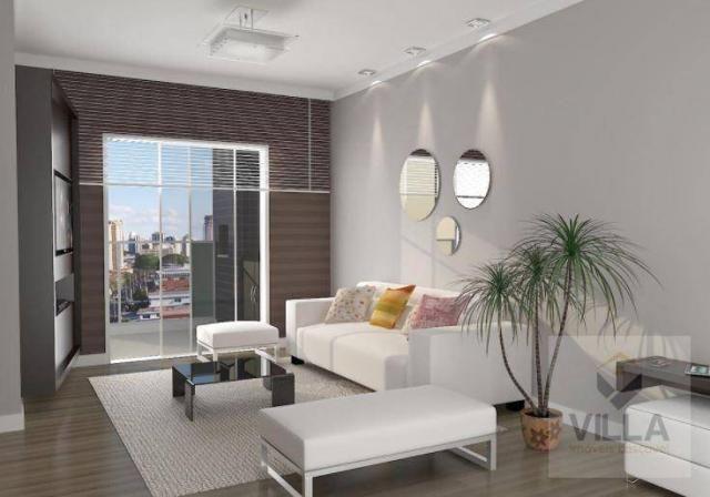 Apartamento com 2 dormitórios à venda, por R$ 355.886 - Centro - Cascavel/PR - Foto 4