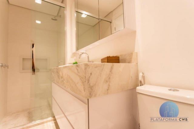 Apartamento com 2 dormitórios à venda por R$ 780.700,00 - Mercês - Curitiba/PR - Foto 18