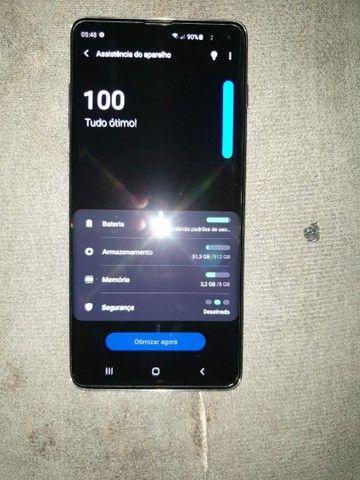 SAMSUNG GALAXY S10 PLUS 512GB NOVO COMPLETO O VALOR E NEGOCIÁVEL OK  - Foto 5