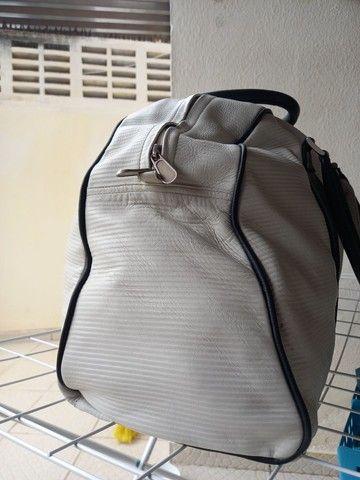Bolsa para viagem de Couro Osklen - Foto 5