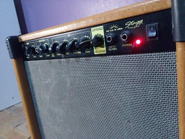 Amplificador de guitarra 40 W USA  - Foto 2