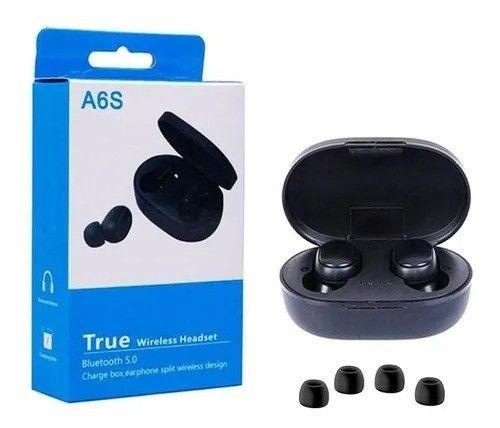 Fone De Ouvido Sem Fio Airdots A6s - Tws - Bluetooth/ Novo e Lacrado