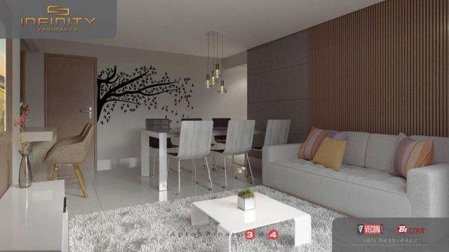 Apartamento Com 3 Suítes - Infinity Residence - Foto 4