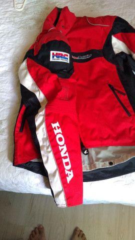 Jaqueta  Honda  com proteção - Foto 4