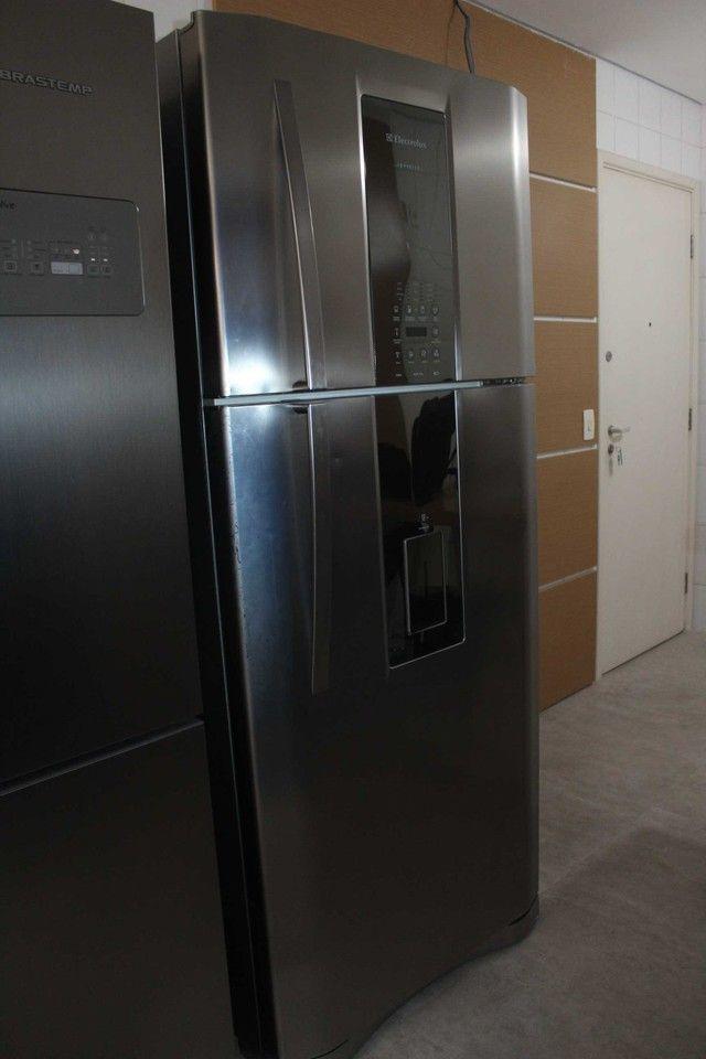 Geladeira Duplex Frost Free Infinity 542 Litros Electrolux DI80X / 127V  - Foto 4