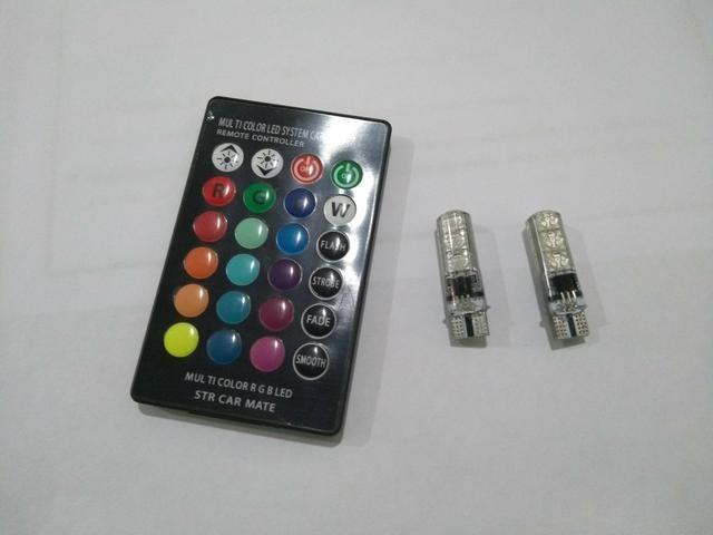 Led RGB com controle remoto 16 cores
