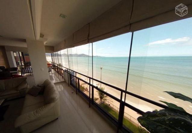 Cobertura Duplex frente para a praia com piscina - Meia Praia - Foto 2