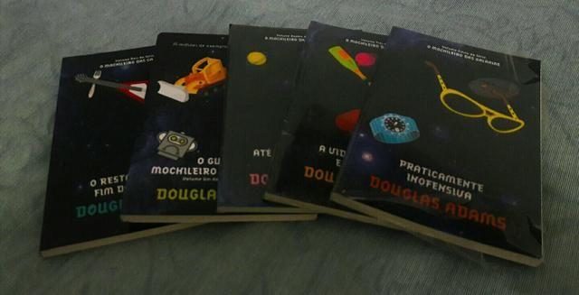 Coleção O Guia do Mochileiro das Galáxias - 5 livros