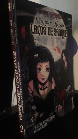 Manga Vampire Kisses - Laços de Sangue volumes 1 e 2