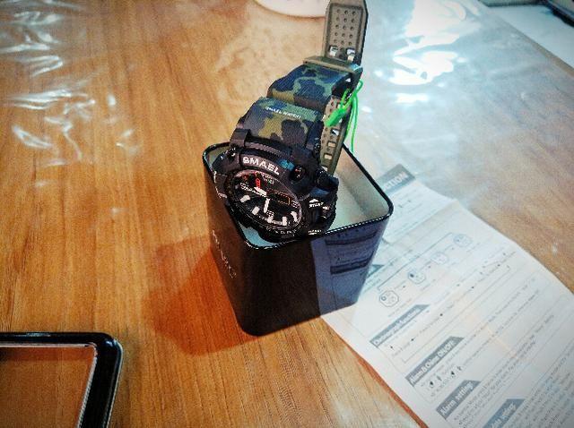 b82ca85e65e Relógio Masculino Estilo militar camuflado Original esportivo à prova  d água!!!