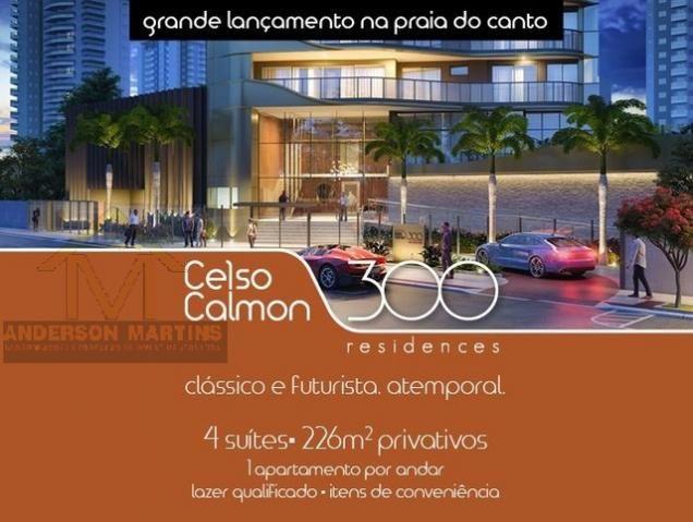 Apartamento à venda com 4 dormitórios em Praia do canto, Vitória cod:8269