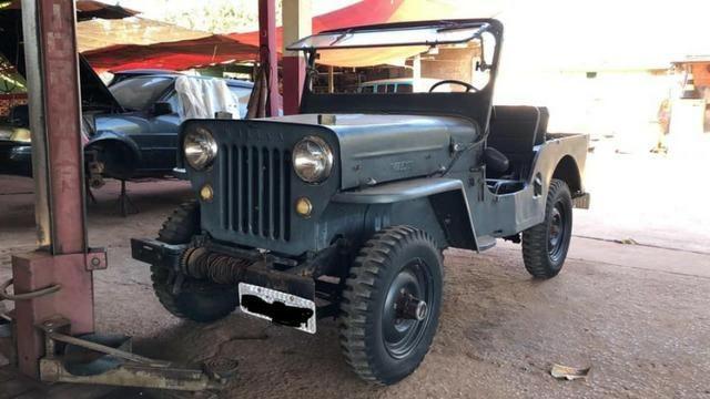 """Willys Jeep CJ-5 1954/1954 """"Coleção"""""""