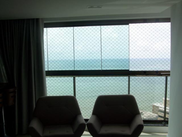 KM-No melhor trecho de praia de Piedade, apt* vista definida para o mar,3suítes 120m2 - Foto 6