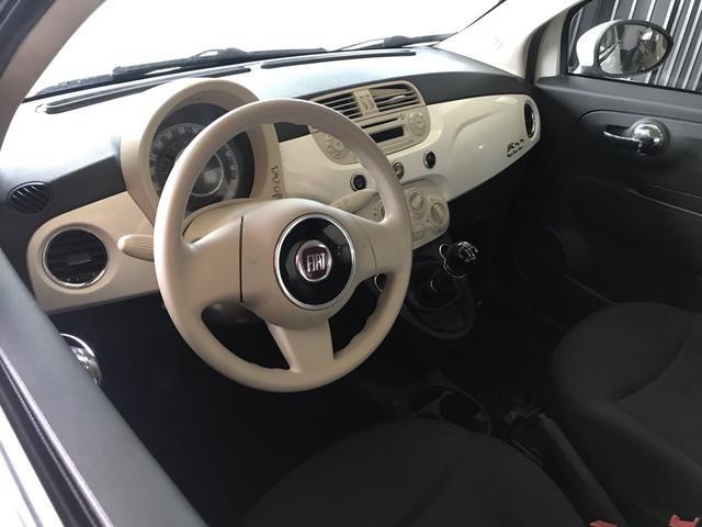 Fiat 500 2012 é na talismã Veiculos - Foto 6