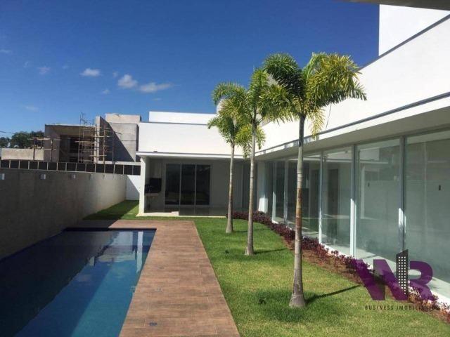 Privilegiada casa á venda, em condomínio fechado, no Gran Royalle - Montes Claros/MG