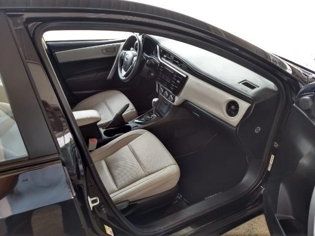 Toyota- Corolla GLI Upper 1.8 Aut. Flex, Ipva 2019 pago, Completo, Garantia até 2020, Novo - Foto 9
