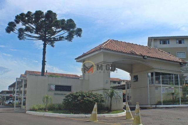 Apartamento com 02 dormitórios, condomínio fechado, Santa Quitéria - Curitiba
