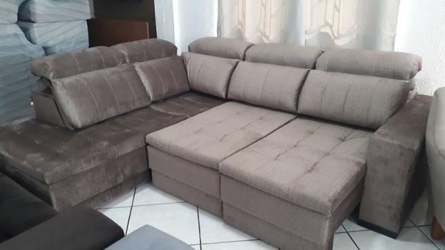 Phenomenal Sofa Retratil E Reclinavel 2 35 X 2 80 Com Chaise Evergreenethics Interior Chair Design Evergreenethicsorg