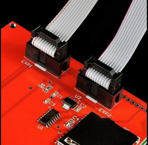 COD-AM278 Display Lcd 128x64 12864 Painel De Controle Impressora 3D Arduino Automação - Foto 4