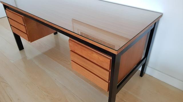 Mesa de escritório com 6 gavetas - Foto 6