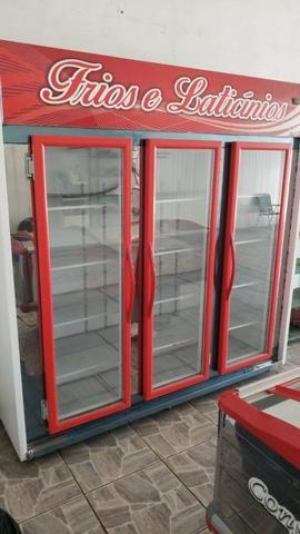 Freezer Vitrine 3 portas 11 - Foto 2