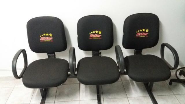 Cadeiras e mesas para escritorio,painéis, gondolas, etc - Foto 3