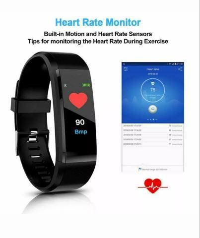 Relógio Pulseria Bluetooth inteligente - Foto 4