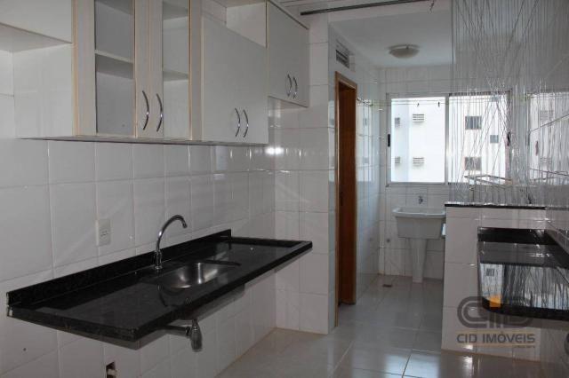 Apartamento com 3 dormitórios à venda, 85 m² por r$ 360.000 - alvorada - cuiabá/mt - Foto 17